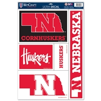 Nebraska Ultra Decal - 11'' X 17''