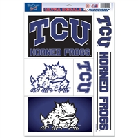 Tcu Ultra Decal - 11'' X 17''