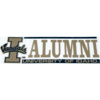 Idaho Vandals Decal - Alumni - 2