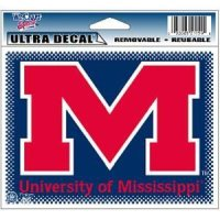 "Mississippi Ultra Decals 5"" X 6"""