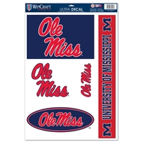 "Mississippi 11""x17"" Ultra Decal Set"