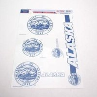 "Alaska Anchorage Seawolves 11""x17"" Ultra Decal Set"