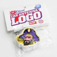 "East Carolina ""pirate"" Car Antenna Logo"