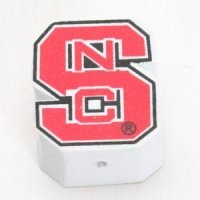 "North Carolina State ""s"" Car Antenna Logo"