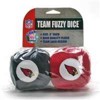 Arizona Cardinals Fuzzy Dice