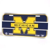 Michigan Durable License Plate