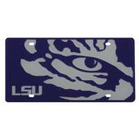 LSU Tigers Full Color Mega Inlay License Plate