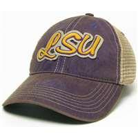 ... LSU Tigers Legacy Trucker Hat - Purple ... 6250e76e6ee5