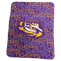 Lsu Classic Fleece Blanket