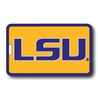 Lsu Soft Luggage/bag Tag