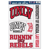 Unlv Rebels Ultra Decal - 11'' X 17''