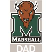 Marshall Thundering Herd Transfer Decal - Dad