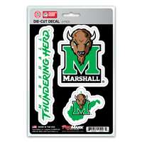 Marshall Thundering Herd Decals - 3 Pack