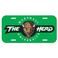 Marshall License Plate
