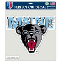 "Maine Bears Full Color Die Cut Decal - 8"" X 8"""