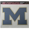 Michigan Wolverines Perforated Vinyl Window Decal