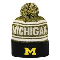 47974754d3a Michigan Wolverines Top of the World Driven Pom Knit ...