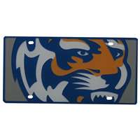 Memphis Tigers Full Color Mega Inlay License Plate
