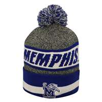 Memphis Tigers Top of the World Cumulus Pom Knit Beanie