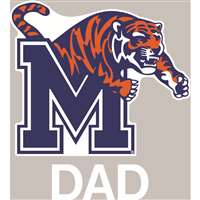 Memphis Tigers Transfer Decal - Dad