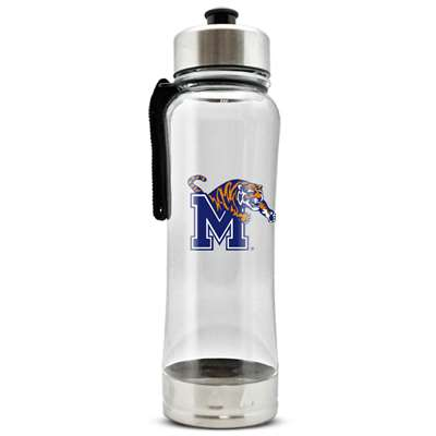 Memphis Tigers Clip-On Water Bottle - 16 oz
