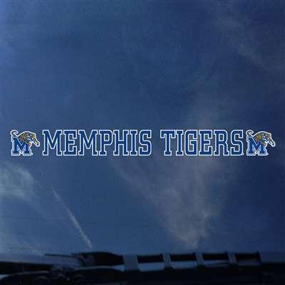 Memphis Tigers Automotive Transfer Decal Strip