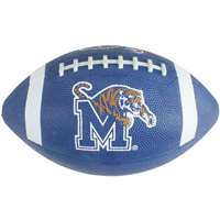 Done in team color, this mini rubber football is the perfect gift for the little fan. Made from premium grip rubber, this ball has superior durability. Features team logo and team name. Indoor/Outdoor. Ships deflated.