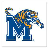 Memphis Tigers Temporary Tattoo - 4 Pack
