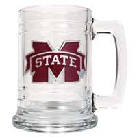Mississippi State Bulldogs 16oz Glass Tankard