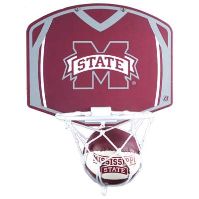 Mississippi State Bulldogs Mini Basketball And Hoop Set