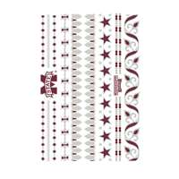 Mississippi State Bulldogs Jewelry Flash Tattoos