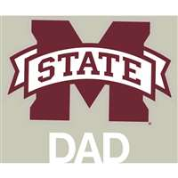 Mississippi State Bulldogs Transfer Decal - Dad
