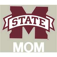 Mississippi State Bulldogs Transfer Decal - Mom