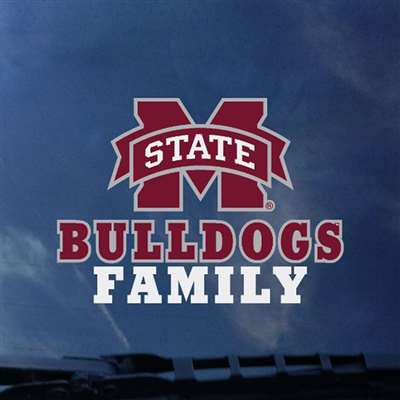 Mississippi State Bulldogs Transfer Decal - Family