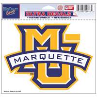 "Marquette Golden Eagles Ultra Decal 5"" x 6"""