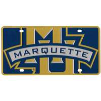 Marquette Golden Eagles Full Color Mega Inlay License Plate