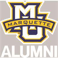 Marquette Golden Eagles Transfer Decal - Alumni