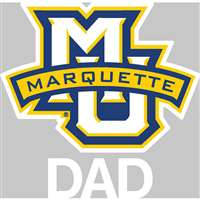 Marquette Golden Eagles Transfer Decal - Dad