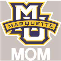 Marquette Golden Eagles Transfer Decal - Mom