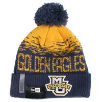 Marquette Golden Eagles New Era Flect Sport Knit Beanie