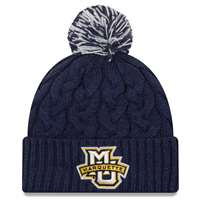 Marquette Golden Eagles New Era Women's Cozy Cable Knit Beanie