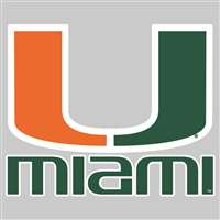Miami Hurricanes Die-Cut Transfer Decal