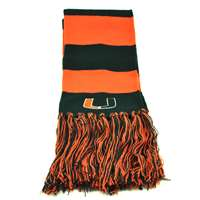 Miami Hurricanes Top of the World Stripe Scarf