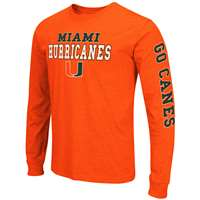 Miami Hurricanes Game Changer Long Sleeve T-Shirt