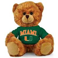 Miami Hurricanes Stuffed Bear