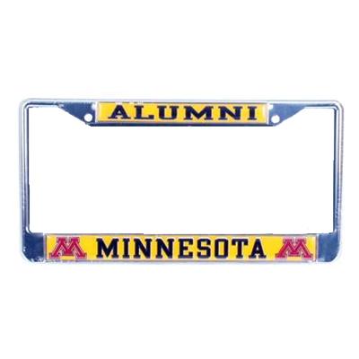 Minnesota Golden Gophers Alumni Metal License Plate Frame