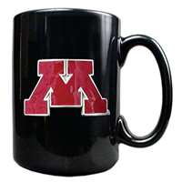 Minnesota Golden Gophers 15oz Black Ceramic Mug