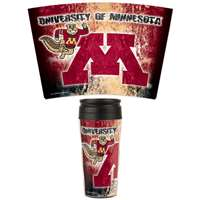 Minnesota Golden Gophers 16oz Plastic Travel Mug