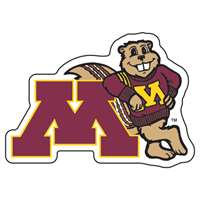 Minnesota Golden Gophers Acrylic Magnet
