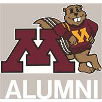 Minnesota Golden Gophers Transfer Decal - Alumni